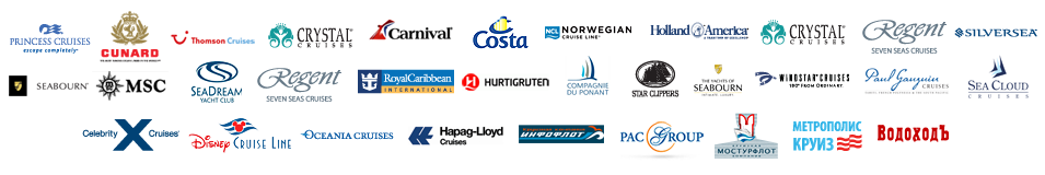 world cruise companies logos